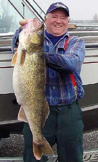 WA Record Walleye 19.3 lbs