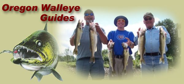 Oregon Walleye Fishing Guides Portland Columbia River