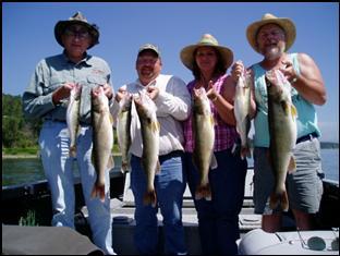 Oregon walleye fishing guide columbia river walleye fishing for Columbia river walleye fishing report